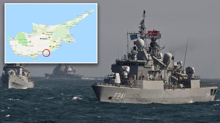 Ο γαλλικός στόλος ρίχνει άγκυρα στην Κύπρο