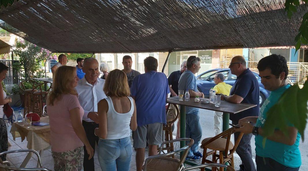Επισκέψεις σε Κάτω Διμηνιό, Μούλκι, Πάσιο και Βασιλικό για το Νίκο Ταγαρά