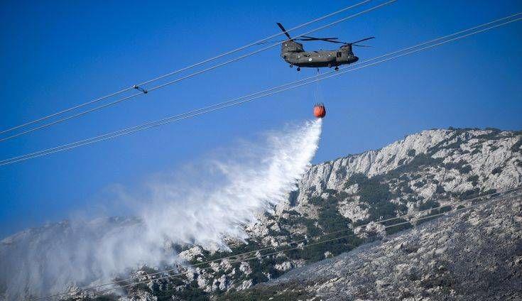 Πολύ υψηλός κίνδυνος πυρκαγιάς σε Αττική, Στερεά Ελλάδα και Πελοπόννησο. Κορινθία και Αργολίδα ο μεγαλύτερος κίνδυνος