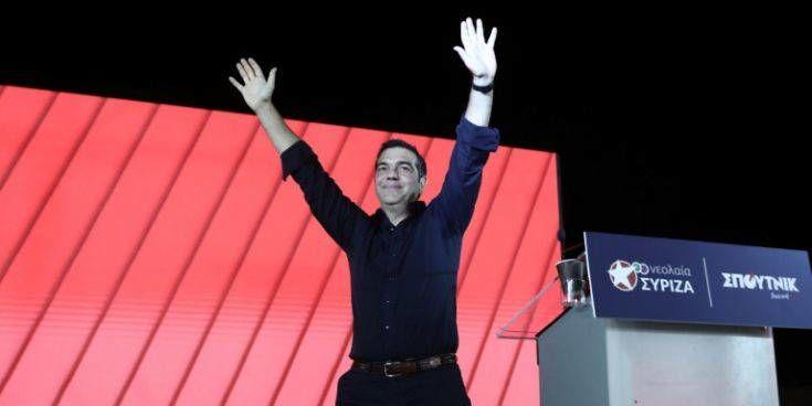 Τσίπρας: «Οι νέοι να πάρουν τον ΣΥΡΙΖΑ στα χέρια τους και να φτιάξουν τον ΣΥΡΙΖΑ της νέας εποχής»