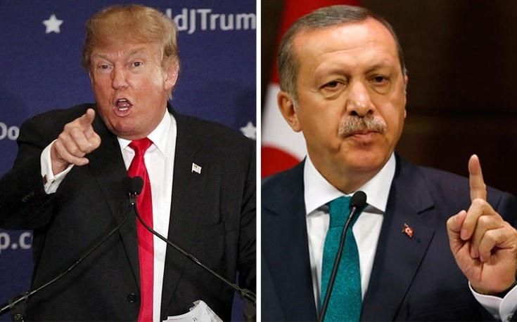 Τραμπ σε Ερντογάν: Θα έχεις μεγάλα προβλήματα αν βλάψεις αμερικανό στρατιωτικό