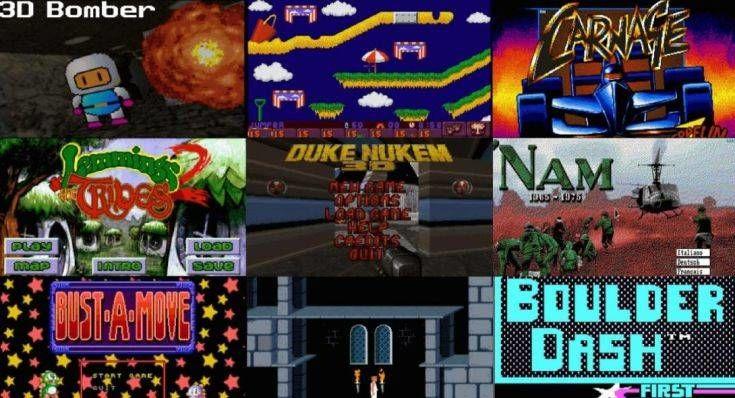 2.500 video games των 80s και των 90s διαθέσιμα δωρεάν στον υπολογιστή σας