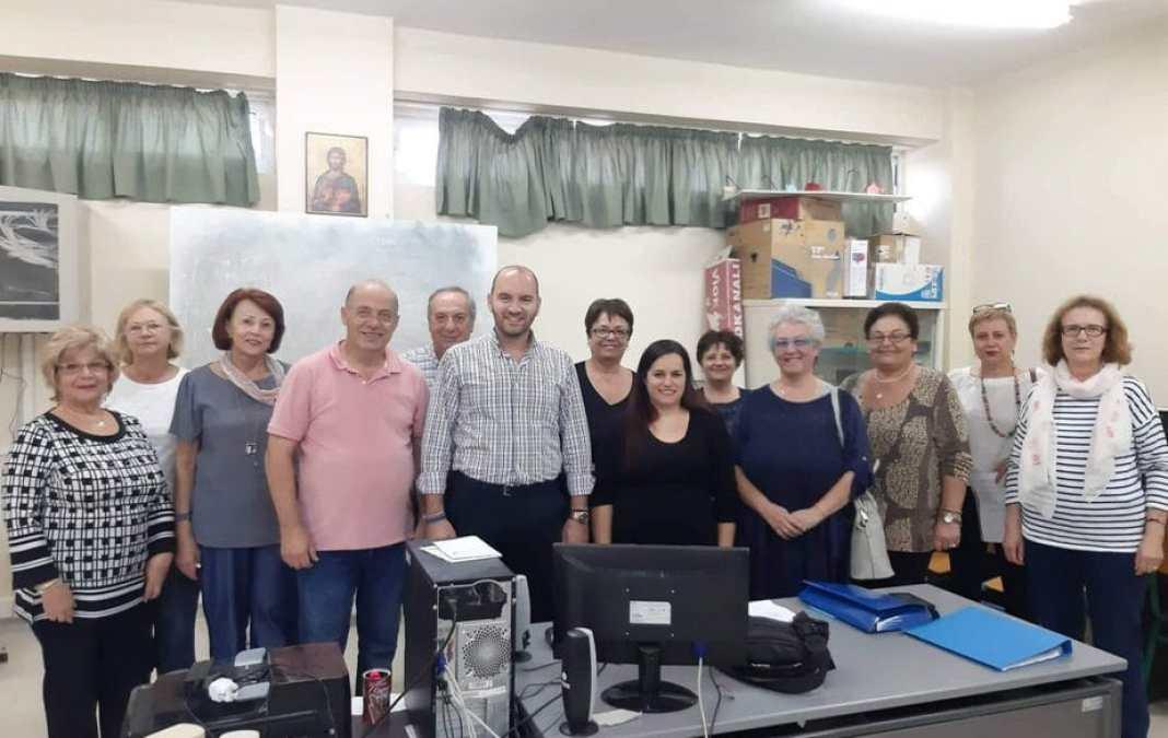 Ο Αντιδήμαρχος Τιμολέων Πιέτρης στην έναρξη των μαθημάτων Δια Βίου Μάθησης του Δήμου Κορινθίων
