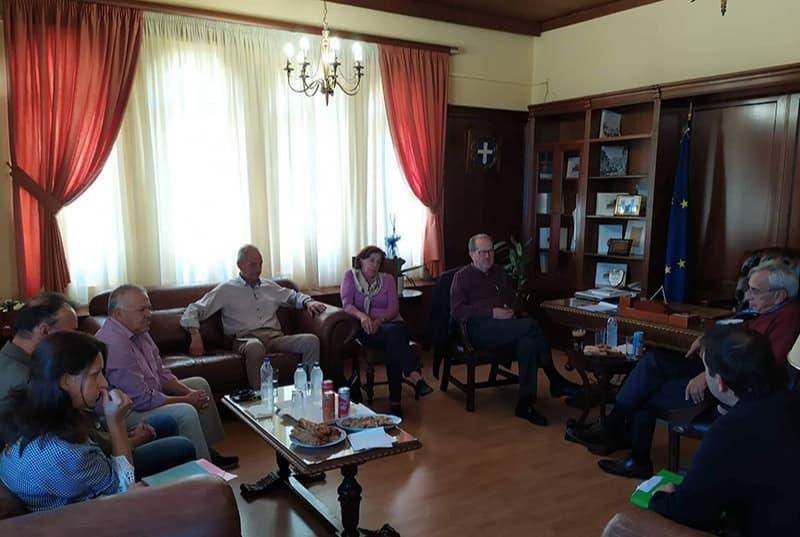 Συνάντηση εργασίας για Νίκα και Γκιολη