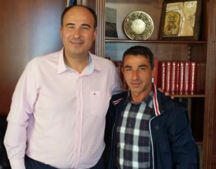 Με τον αντιπεριφερειάρχη Κορινθίας Τάσο Γκιολή συναντήθηκε ο πρόεδρος του Άσσου