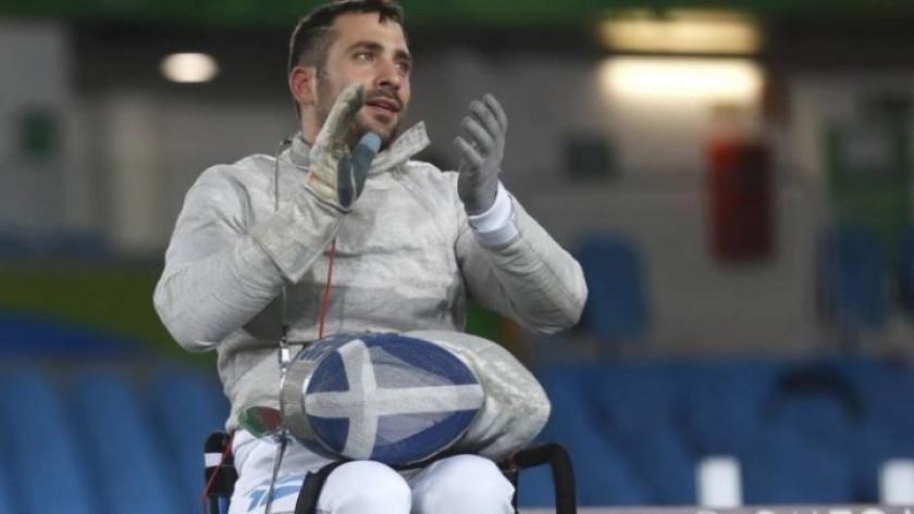 Παγκόσμιο κύπελλο ξιφασκίας με αμαξίδιο: «Χρυσός» ο Τριανταφύλλου