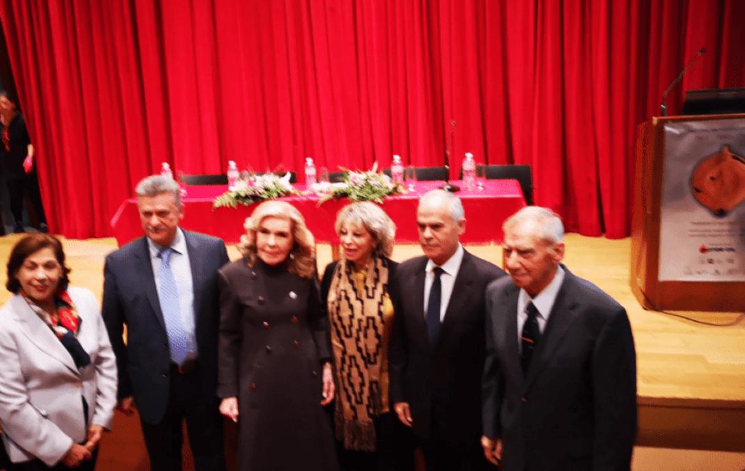 Στην έναρξη του Διεθνούς Αρχαιολογικού Συνεδρίου «Τροία-Τενέα-Ρώμη», την Πέμπτη, 5 Δεκεμβρίου 2019 στο Δημοτικό Θέατρο Κορίνθου