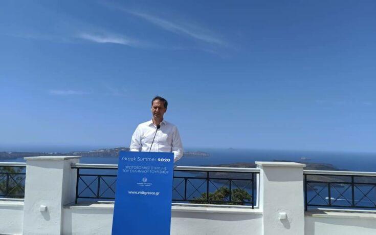 Θεοχάρης: Αυτό το Σαββατοκύριακο επανεκκινούμε το ελληνικό καλοκαίρι