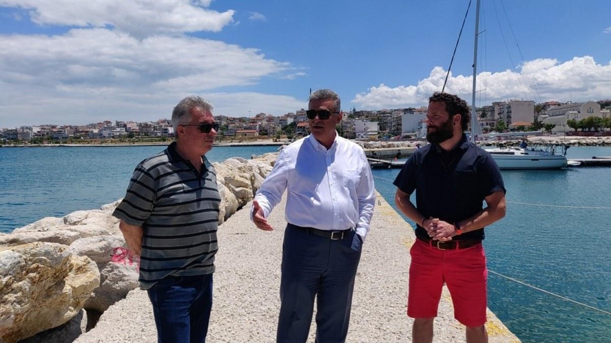 Εταιρία με γιώτ άρχισε να δραστηριοποιείται στο λιμάνι της Κορίνθου