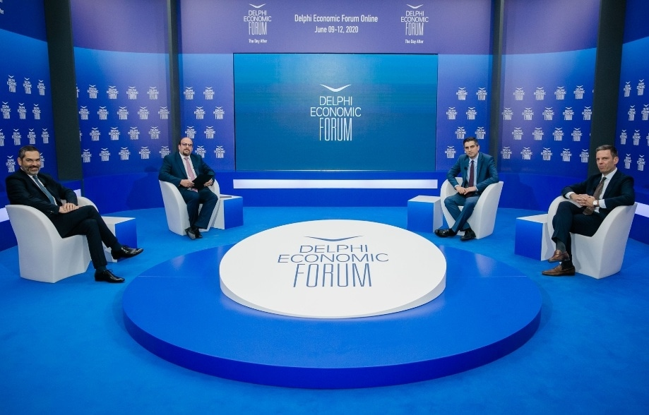 Ο Χρίστος Δήμας στο Delphi Economic Forum για την Έρευνα & Καινοτομία.