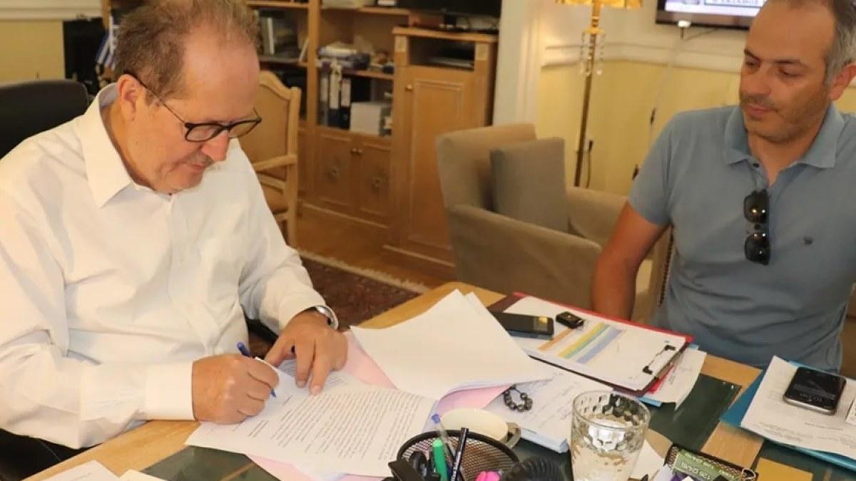 Υπογράφηκε σύμβαση 1 εκ. ευρώ για τον δρόμο Κιάτο – Σούλι – Καστανιά – Γκούρα