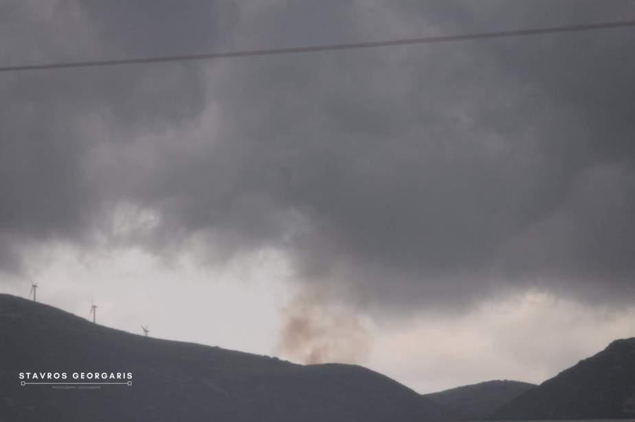 Τώρα: Φωτιά στο Στεφάνι από κεραυνό