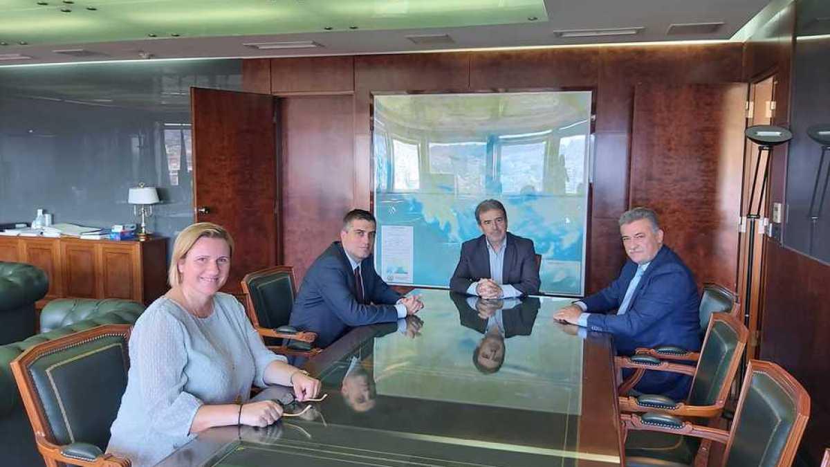 Συνάντηση Δήμα, Σούκουλη, Νανόπουλου με Χρυσοχοΐδη για την αστυνόμευση στον Νομό Κορινθίας