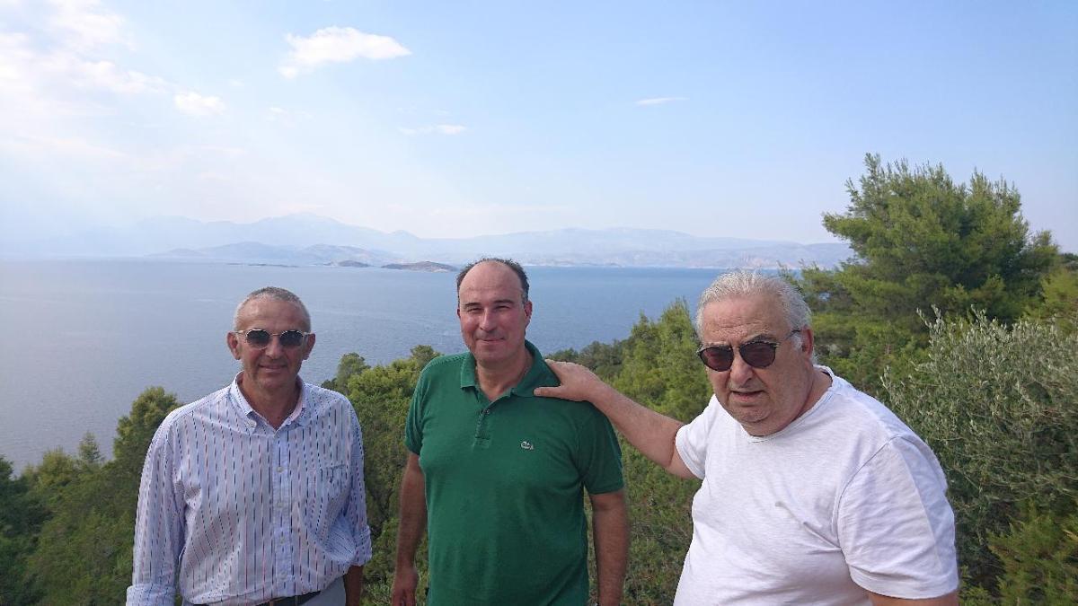 Σε περιοχές του Λουτρακίου για έργα βελτίωσης ο Αντιπεριφερειάρχης Τάσος Γκιολης