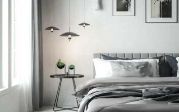 Τα χρώματα που δημιουργούν χαλαρωτική ατμόσφαιρα στο υπνοδωμάτιο