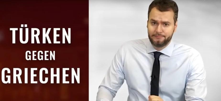 Καυστικό βίντεο από Γερμανό δημοσιογράφο για την ελληνοτουρκική κρίση