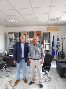 Επίσκεψη του καθηγητή Δυναμικής Τεκτονικής και Εφαρμοσμένης Γεωλογίας Θ. Λέκκα στο Δήμο Νεμέας
