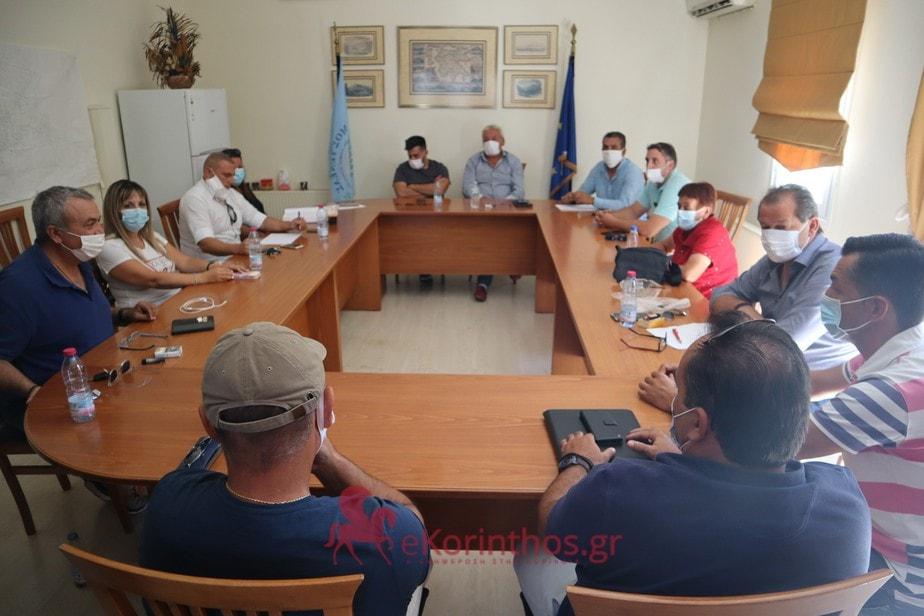 Σύσκεψη του τοπικού συμβουλίου Χιλιομοδίου για τα απορριματα
