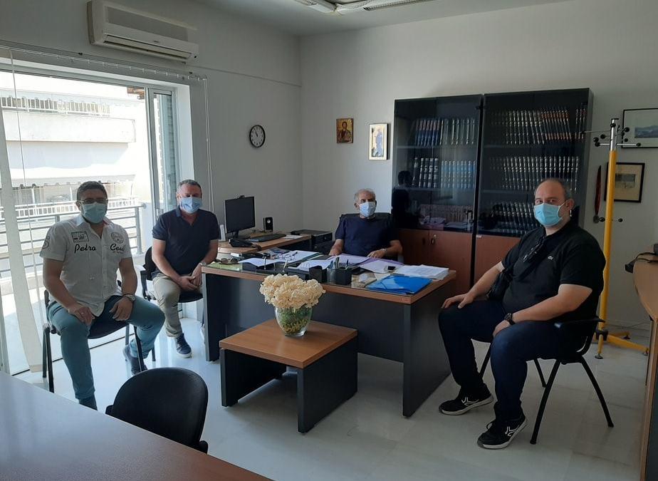 Συνάντηση εργασίας για τους φροντιστές της Κορινθίας