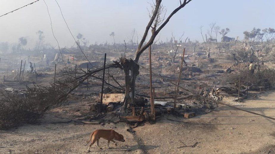 Φωτιά στη Μόρια: Αγωνία μετά τις τεράστιες καταστροφές