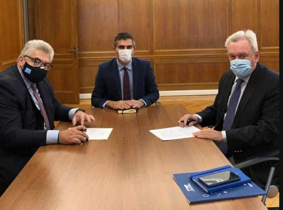 Υπεγράφη Μνημόνιο συνεργασίας μεταξύ της Γενικής Γραμματείας Έρευνας και Τεχνολογίας και της Γενικής Γραμματείας του Υπουργείου Εθνικής Άμυνας.