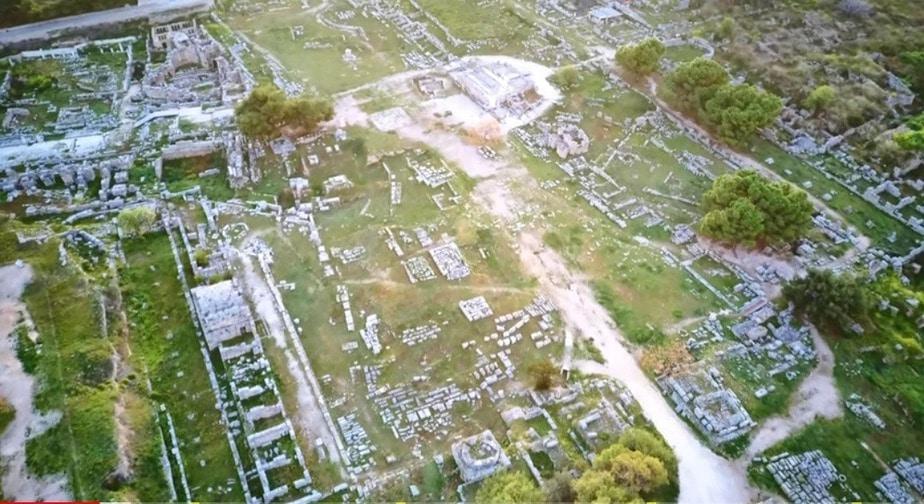 Η Αρχαία Κόρινθος από ψηλά