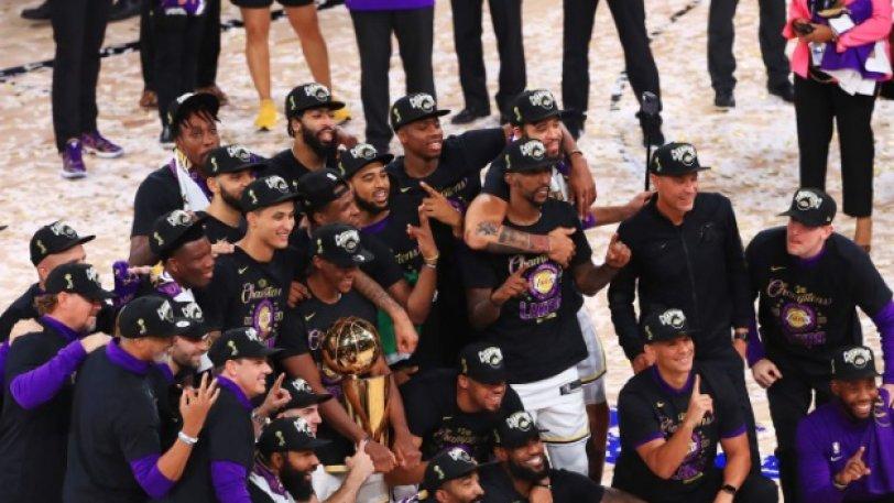 Άξιοι πρωταθλητές οι Lakers.