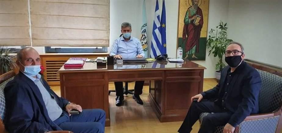 Συνάντηση του Δημάρχου Κορινθίων με το σύλλογο Αλβανών μεταναστών Κορινθίας