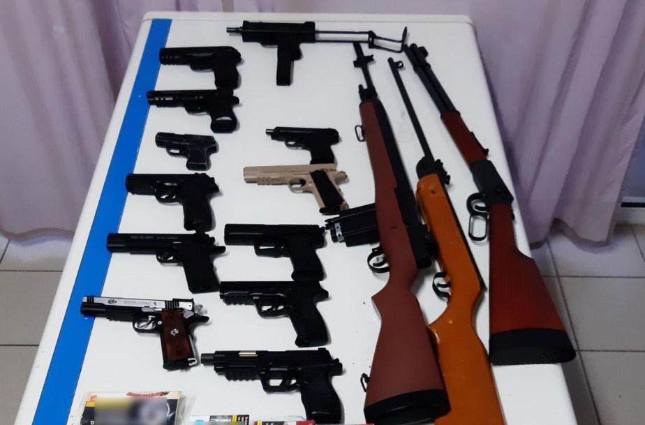 Κιάτο: Συνελήφθη 33χρονος με αεροβόλα πιστόλια και αεροβόλα όπλα