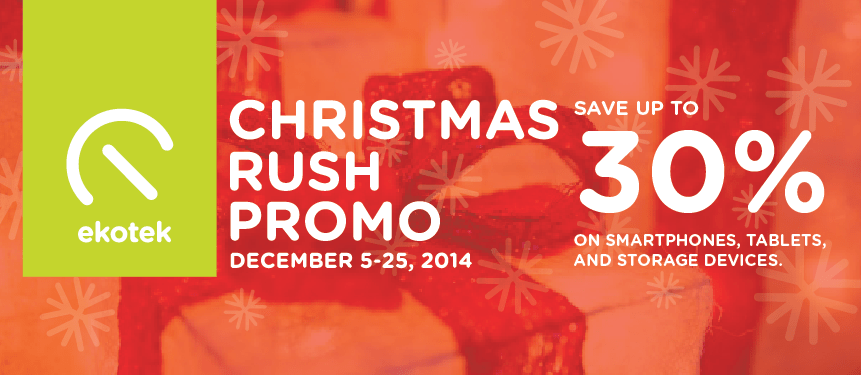 Feature Image for Christmas Rush Promo