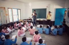 Hill Hacks: Origami Workshop Government Primary School, Naddi