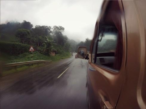 NH 40 from Guwahati to Shillong