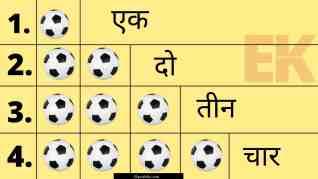 Hindi Counting | Hindi Ginti