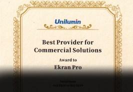 Unilumin: «ЭкранПро — лучший поставщик коммерческих решений»
