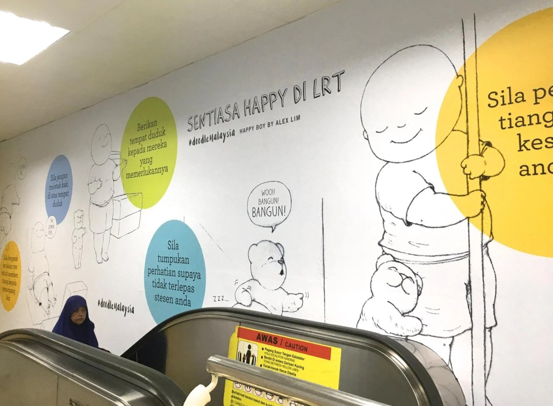 Among the artists contributing their artworks is Alex Lim of Happy Boy fame. Image credit Allie Hill.