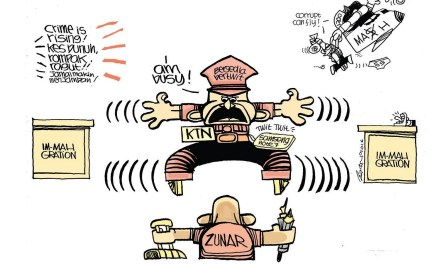 Do you recognise these symbolism in Zunar's cartoons?