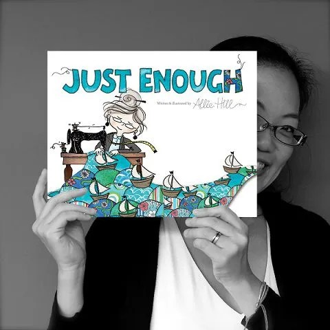 """Can't get enough of Allie Hill's latest book """"Just Enough"""""""