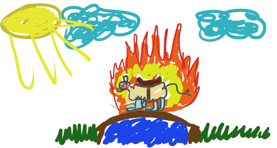 SHORT STORY | Heat by Ted Mahsun