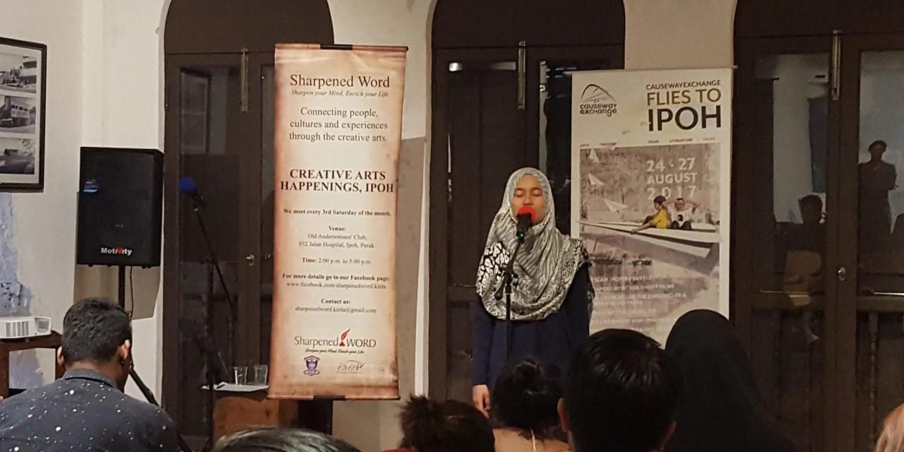 Competition divides but Slam Poetry unites