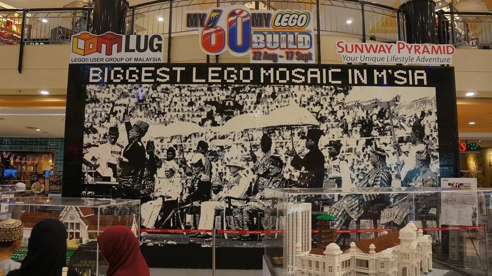 Celebrating Malaysian culture and history through Lego