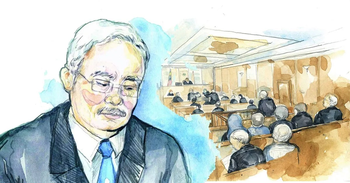 What's It Like To Be The Illustrator Who Paints Najib In The Courtroom?