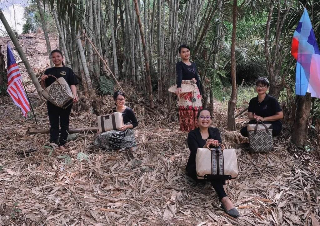 Sabah Artpreneur Helps 30 Women Survive The Pandemic Through Bamboo Weaving