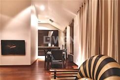 zdjęcie przedstawia salon w apartamencie na wynajem, Szczecin