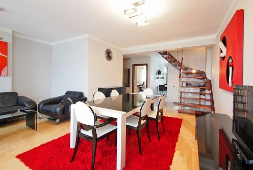 salon w apartamencie do sprzedaży w Tarnowie