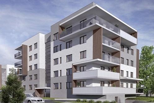 na zdjęciu apartamentowiec w Inowrocławiu, w którym znajduje się oferowany apartament na sprzedaż