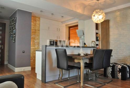 na zdjęciu ekskluzywne wnętrze apartamentu w okolicy Katowic na sprzedaż