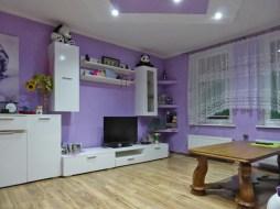 widok na ekskluzywny salon w apartamencie na sprzedaż w Kwidzynie