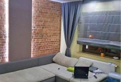 na zdjęciu komfortowy salon w apartamencie do wynajmu w Szczecinie