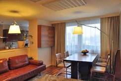 widok na luksusowe wnętrze apartamentu w okolicach Katowic do sprzedaży
