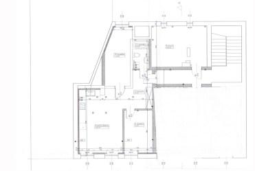 rzut na rozmieszczenie wszystkich pomieszczeń w ekskluzywnym apartamencie do sprzedaży w Szczecinie